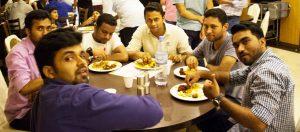 alwafaa iftar party food
