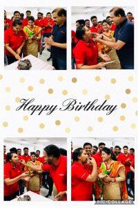 Birthday of Ms.Ebini