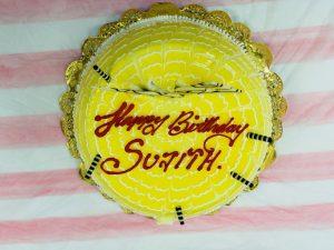 birthday cake of sujith