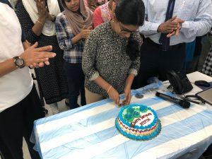 birthday of deepthi two