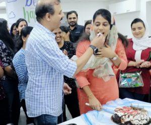 birthday of irfana one