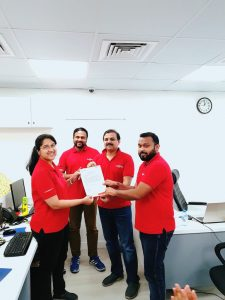 promotion of employees five