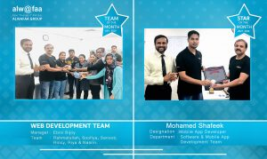 star and department of the month july