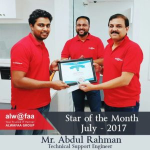 star of the month july