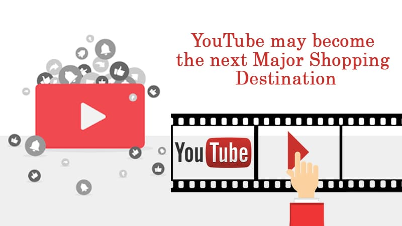 YouTube may become the next major shopping Destination