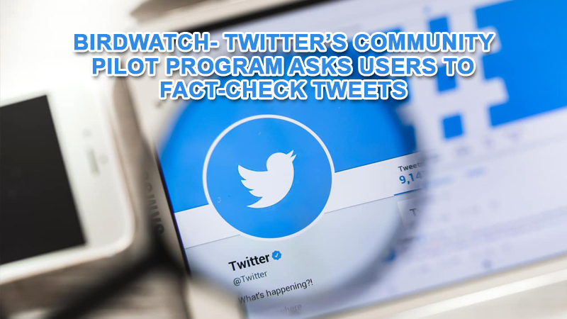 Pilot program asks users to fact-check tweets