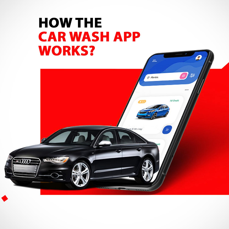 car wash mobile app developement